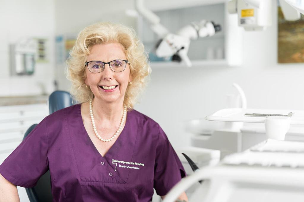 Zahnärztin Velbert - Dr. Freytag - Team - Doris